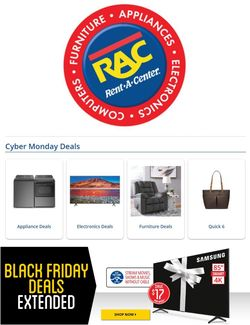 Current weekly ad Rent-A-Center