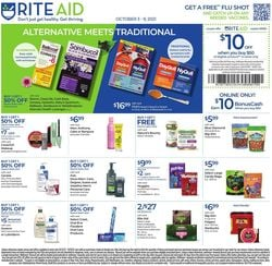 Catalogue Rite Aid from 10/03/2021