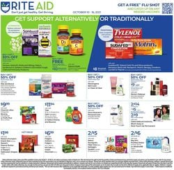 Catalogue Rite Aid from 10/10/2021