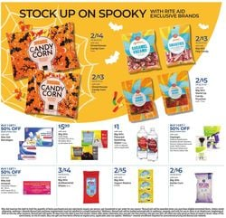 Catalogue Rite Aid Halloween 2021 from 10/17/2021