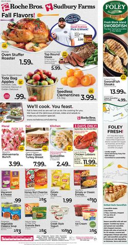 Catalogue Roche Bros. Supermarkets from 09/24/2021