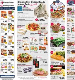 Catalogue Roche Bros. Supermarkets from 10/01/2021
