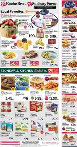 Catalogue Roche Bros. Supermarkets from 10/08/2021