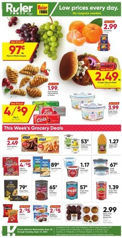 Catalogue Ruler Foods from 09/08/2021