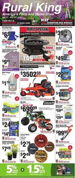 Catalogue Rural King from 05/09/2021