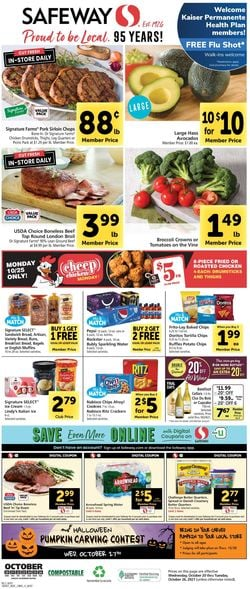 Catalogue Safeway from 10/20/2021