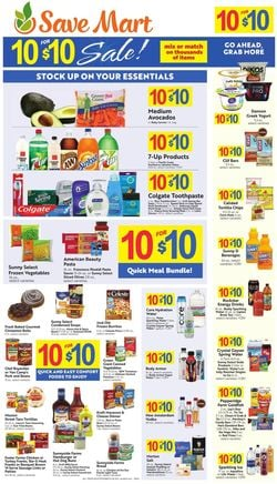 Catalogue Save Mart from 09/22/2021