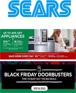 Current weekly ad Sears