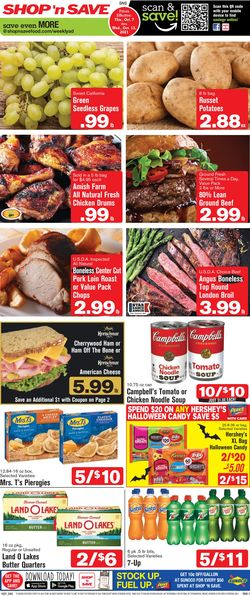 Catalogue Shop 'n Save from 10/07/2021
