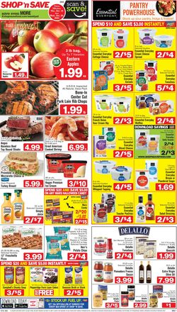 Current weekly ad Shop 'n Save