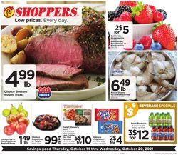 Catalogue Shoppers Food & Pharmacy from 10/14/2021