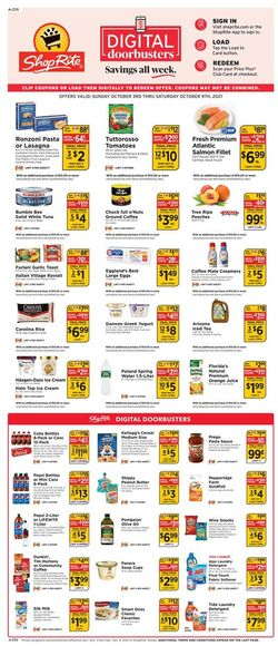 Catalogue ShopRite from 10/03/2021