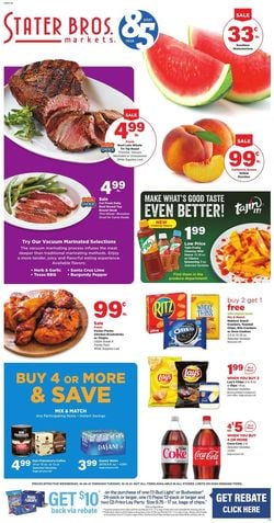 Catalogue Stater Bros. from 10/06/2021