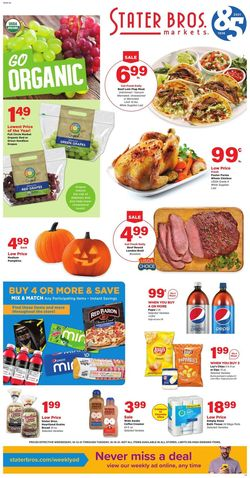 Catalogue Stater Bros. from 10/13/2021