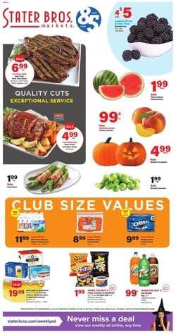 Current weekly ad Stater Bros.