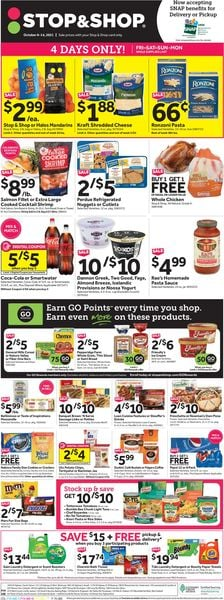 Catalogue Stop and Shop from 10/08/2021