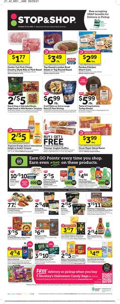 Catalogue Stop and Shop from 10/15/2021