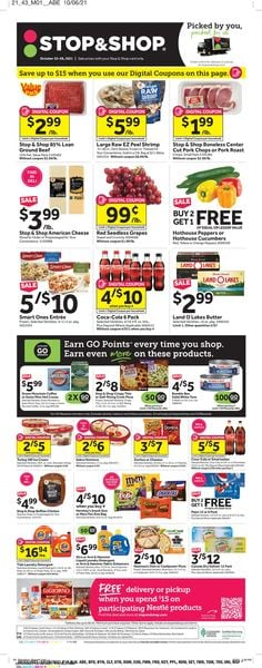 Current weekly ad Stop and Shop
