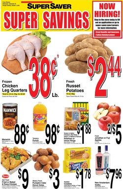 Catalogue Super Saver from 09/29/2021