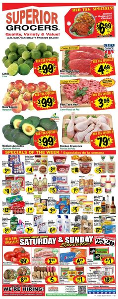 Catalogue Superior Grocers from 09/22/2021