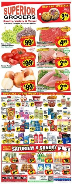Catalogue Superior Grocers from 09/29/2021