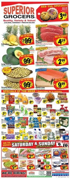Catalogue Superior Grocers from 10/06/2021