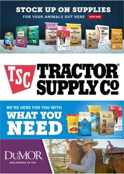 Catalogue Tractor Supply from 02/02/2021