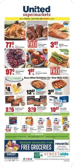 Catalogue United Supermarkets from 08/18/2021