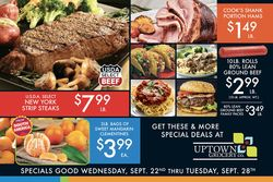 Catalogue Uptown Grocery Co. from 09/22/2021