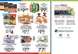 Catalogue Uptown Grocery Co. from 09/29/2021