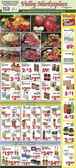 Catalogue Valley Marketplace from 09/29/2021