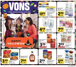 Catalogue Vons Halloween 2021 from 10/06/2021