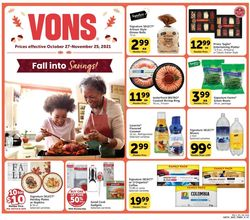 Catalogue Vons from 10/27/2021