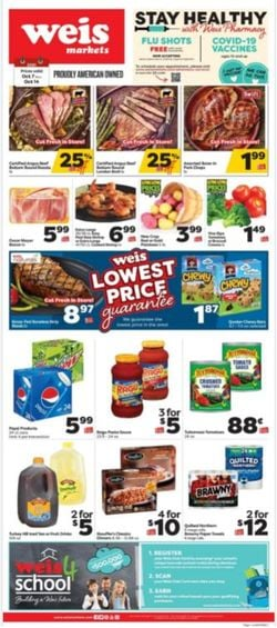 Catalogue Weis from 10/07/2021