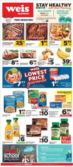 Catalogue Weis from 10/14/2021