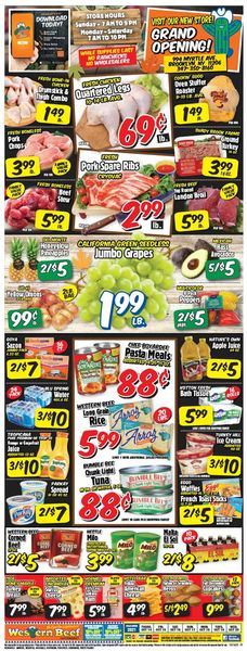 Current weekly ad Western Beef