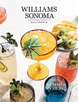 Catalogue Williams-Sonoma from 06/01/2021